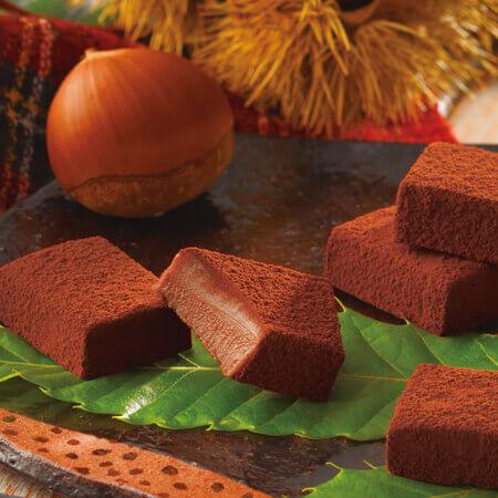 ロイズの『生チョコレート[栗]』
