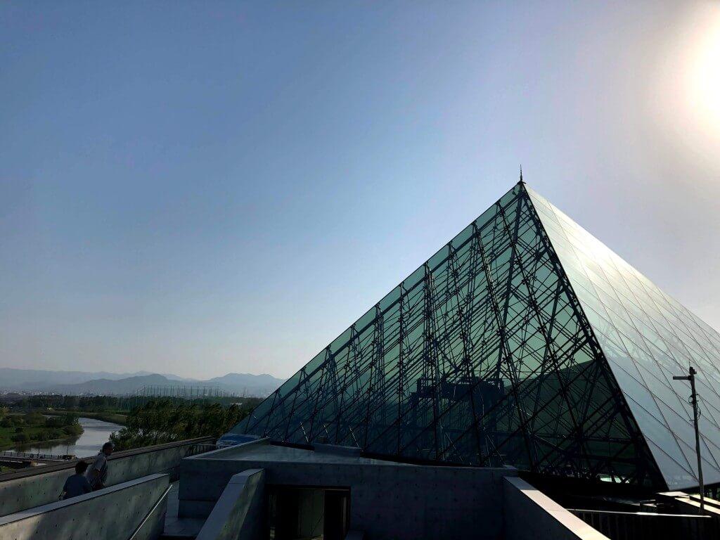 モエレ沼公園 ガラスのピラミッド アトリウム1/アトリウム2