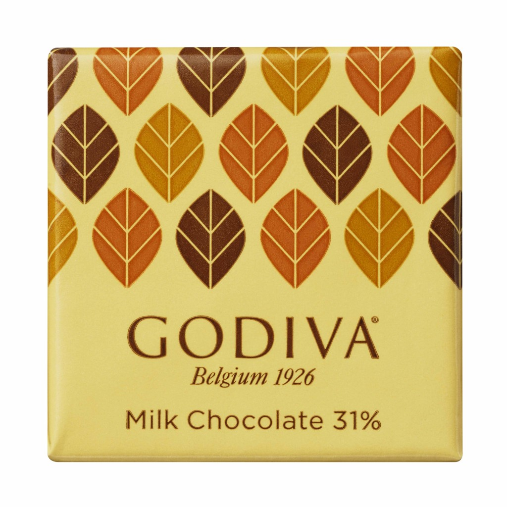 ゴディバの『カレ ミルク 31%』