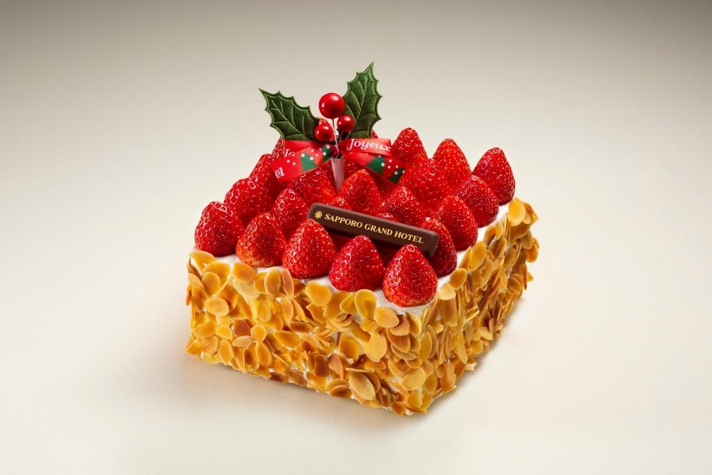 札幌グランドホテルのクリスマスケーキ2021-ミルフィーユ