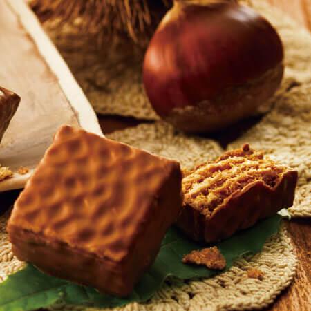 ロイズの『チョコレートウエハース[モンブランクリーム12個入]』