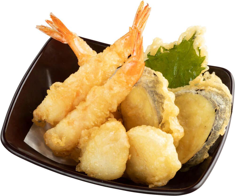 スシローの『えびと秋野菜の天ぷら盛り合わせ』