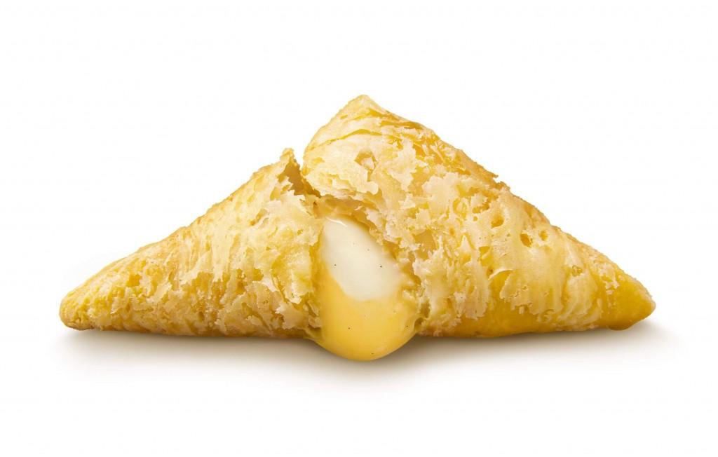 マクドナルドの『三角チョコパイ よくばりカスタード』