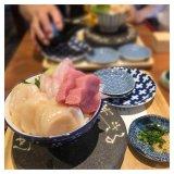 シハチ鮮魚店の海鮮丼