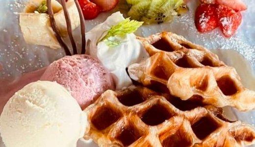 【ストロベリーカフェ ルアナ】白石区にサクサクもっちりのクロッフルにパンケーキも味わえるカフェがオープン!