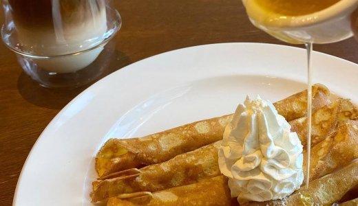 【日晴堂(ひばりどう)】南4西1にロール状に巻いたクレープ「シンクレープ」も楽しめるカフェがオープン!