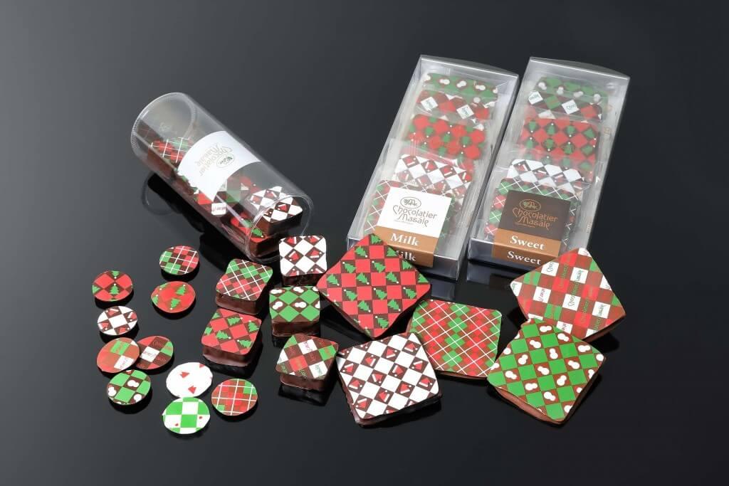 ショコラティエ マサールの『クリスマスチョコレート菓子』