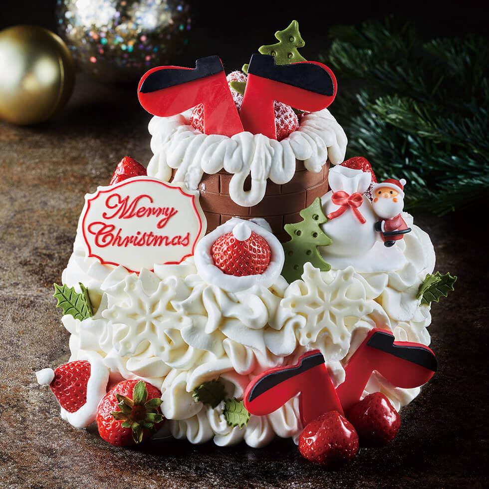 アニバーサリーのクリスマスケーキ2021『ドリーミングクリスマス』
