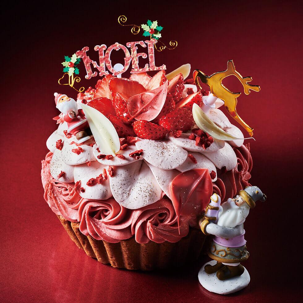 アニバーサリーのクリスマスケーキ2021『プレシャスストロベリータルト』