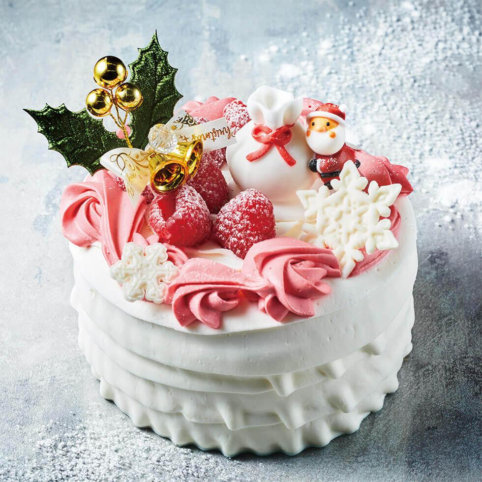 アニバーサリーのクリスマスケーキ2021『リースストロベリー』