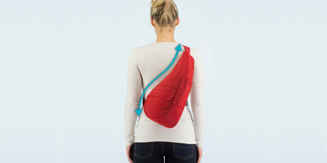 ヘルシーバックバッグのバッグ