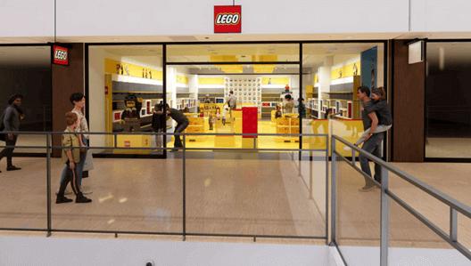 レゴ®ストア札幌北広島店の外観