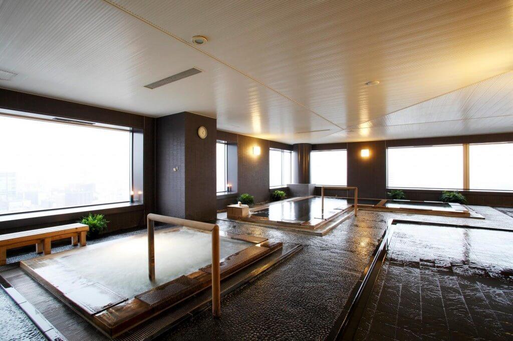 JRタワーホテル日航札幌の男性スパエリア