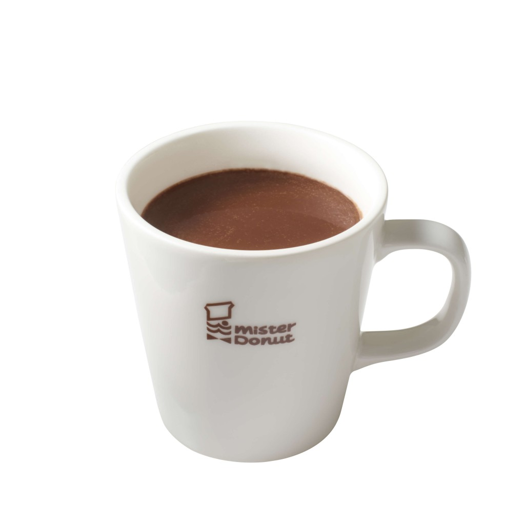 ミスタードーナツの『ホットチョコレート』