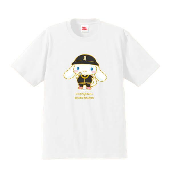 タワーレコードのシナモロールコラボグッズ『Tシャツ』