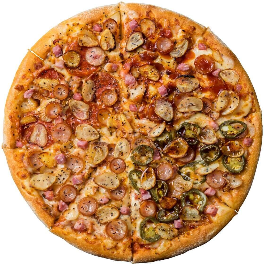 ドミノ・ピザの『ハロウィンチャレンジ・クワトロ』
