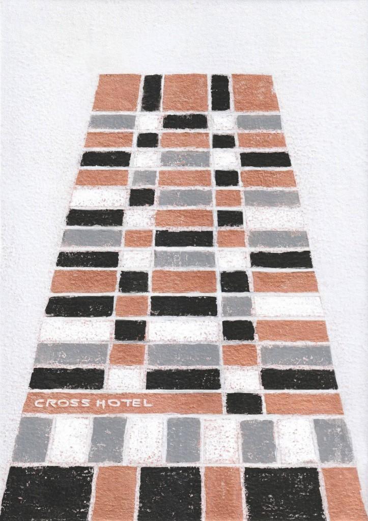 クロスホテル札幌の『プラスアートフェス2021』-小林龍一氏による「プラスアートフェス2021」メインビジュアル