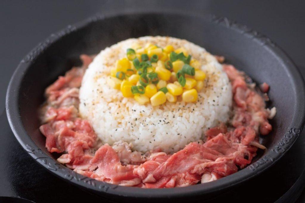 ペッパーランチの『お肉たっぷりビーフペッパーライス(Mサイズ)』
