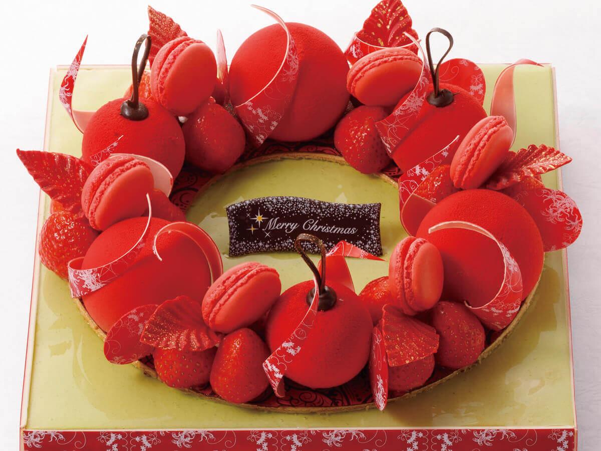 札幌プリンスホテルのクリスマスケーキ2021『クロンヌ ドゥ ノエル』