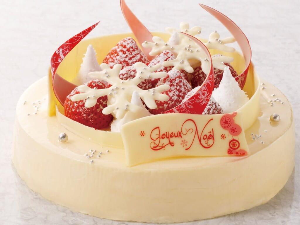 札幌プリンスホテルのクリスマスケーキ2021『雪の花』