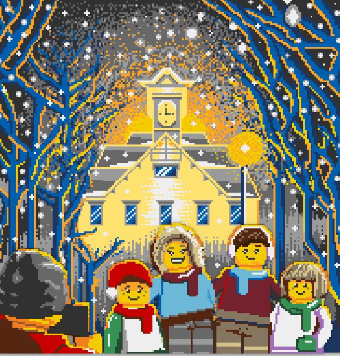 レゴ®ストア札幌北広島店-北海道・札幌を象徴する時計台をモチーフとしたレゴブロック